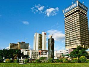 Downtown Lusaka Zambia