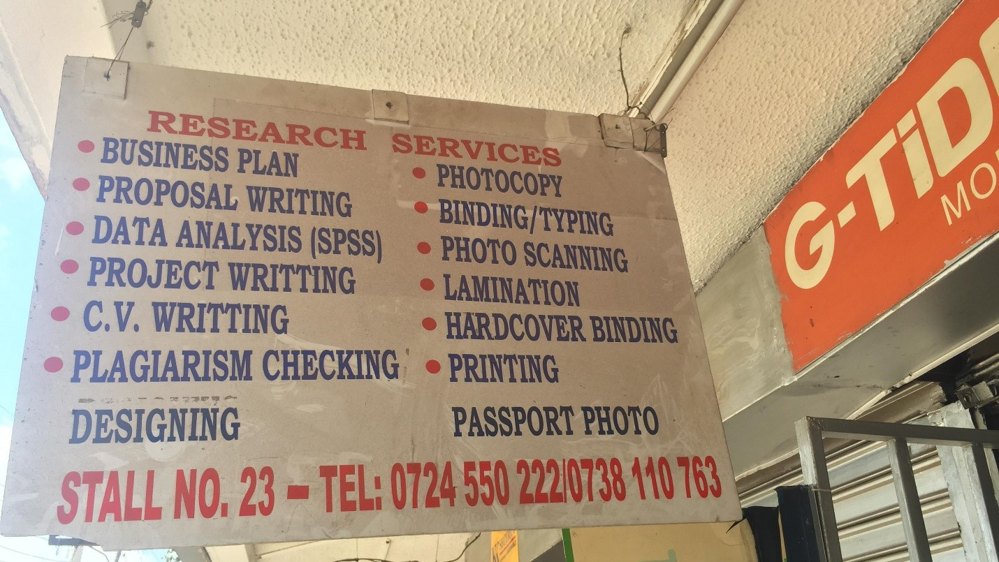 printing and photocopying business in Kenya