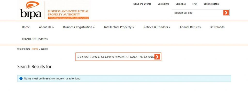 company registration in namibia